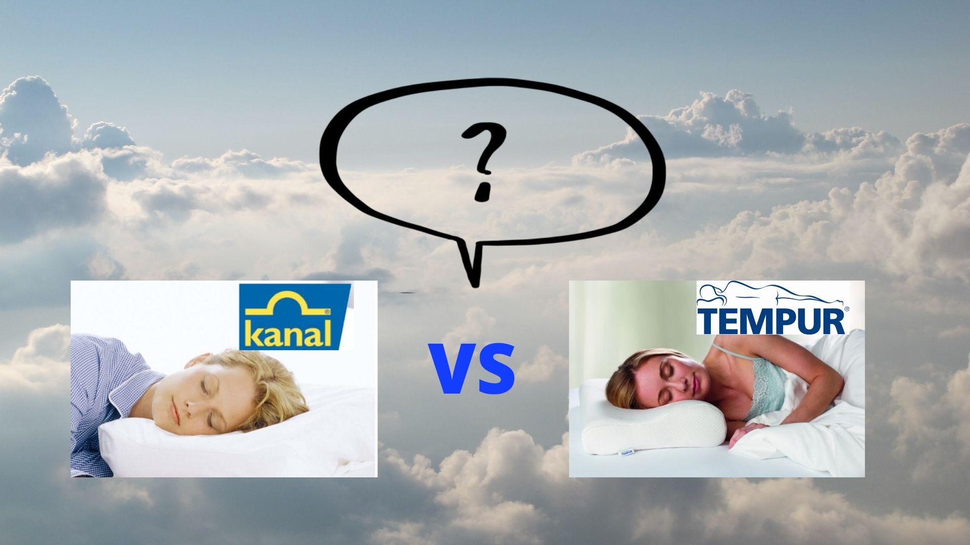 Kanal kuddar vs Tempur kuddar